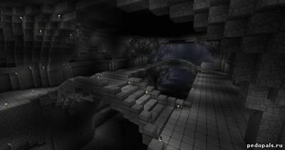 Карта красивый дом у моря для minecraft